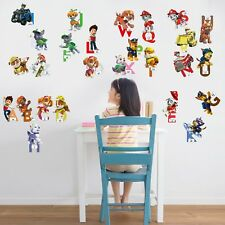 26 Letter Vinyl Decal Decor DIY Paw Patrol Wall Stickers Removable uk 676