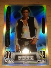 Force Attax Star Wars Serie Movie 2 Force Meister Nr.227 Han Solo Sammelkarte