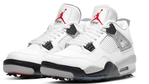✅ NEW Nike Air Jordan 4 IV White Cement GOLF NRG Sz 11 PREORDER SOLD OUT ✅