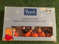 New Set Of Ten Halloween Winnie The Pooh & Friends Blow Mold Novelty Lights