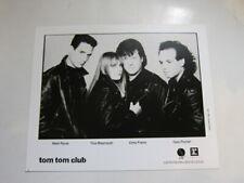 Tom Tom Club 8x10 photo
