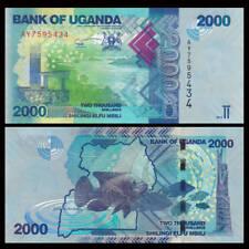 Uganda 2000 (2,000) Shillings, 2017, P-50, UNC