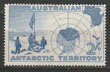 1958 Australia Territorio Antartico 2 / -, SG 1 m / MINT-NO GUM
