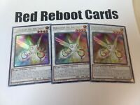 3x Herald Of The Arc Light Ultra Rare BLRR Yugioh mint