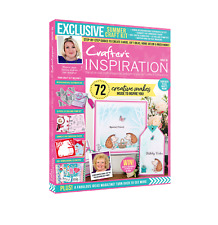 Crafters Companion - CRAFTERS INSPIRATION - Issue 30 Spring Edition FREE UK P&P