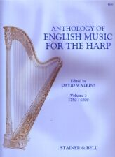 ANTHOLOGY OF ENGLISH HARP MUSIC VOL 3 Watkins