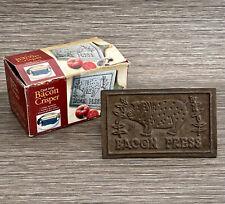 Vintage Bacon Press - Cast Iron