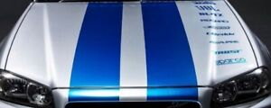 Decal set for Nissan Skyline Vinyl Decal Sticker Window Laptop graphics Banner