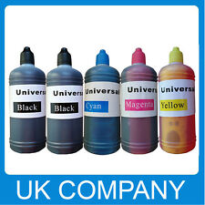 5x100ml Unink Brand Universal Refill Ink Bottle for CISS Refillable Cartridges