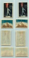 Russia  USSR  1939  SC  714  715, 714a  715a  used. d2250