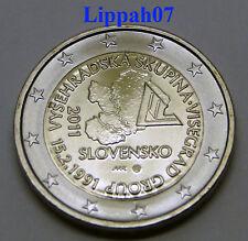 Slowakije speciale 2 euro 2011 Visegrad Gruppe UNC