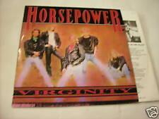 HORSEPOWER - VIRGINITY - LP VINYL 1989 - RARE