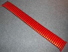 New ROWI Germany 22mm 22 mm Metallic Red Fixo-Flex S Expansion Watch Band $29.95