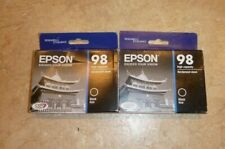 2017 Genuine Epson 98 Black ink T0981 T098120 Artisan 835 837 High Capacity