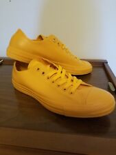 ba6841189b3f Converse rubber Chuck Taylor All Star Women 11 men 9 Low Top Yellow wild  honey