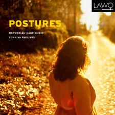 David Bratlie : Sunniva Rodland: Postures: Norwegian Harp Music CD (2019)
