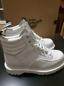 Dr Martens Zuma Aunt Sally White  Boots - Size UK 9 Brand New Orginal