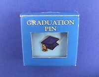 Hallmark PIN Graduation Vintage GRADUATE CAP School COLLEGE Brooch MIB