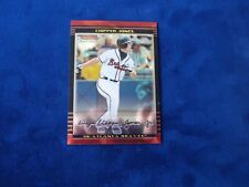 2002 BOWMAN CHROME ATLANTA BRAVES CHIPPER JONES # 80