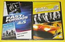 Action DVD Lot - Fast & Furious Collection 4 & 5 (New) Fast & Furious 6 (New)