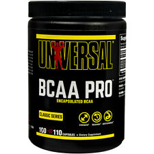 Universal Nutrition BCAA Pro  - 110 Capsules - Enhanced with Vitamin B6