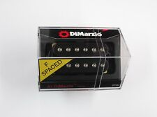 DiMarzio F-spaced Al DiMeola Bridge Humbucker Black W/Chrome Poles DP 202