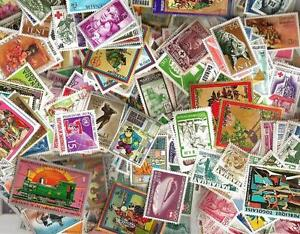MONDE ENTIER 2000 timbres différents neufs** tous pays