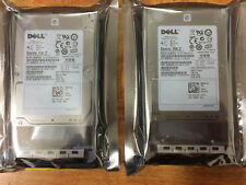 "2x DELL X162K 0X162K 146GB 15K.2 6G 2.5"" SAS HDD P/N: 9FU066-150 Certified Dell"