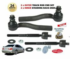 FOR LEXUS GS300 GS430 ARISTO 1997-> 2x OUTER + 2x INNER STEERING TRACK ROD ENDS