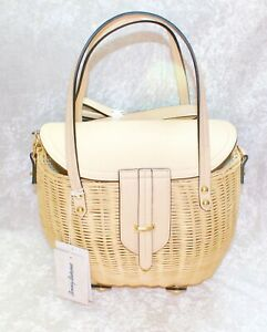 TOMMY BAHAMA NATURAL RATTAN BAG