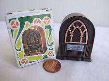VTG Die-Cast Pencil Sharpener Miniature Radio MIB Spain Play Me#974