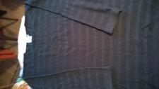 Pullover 48 50 schwarz glitzer  oversized
