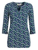 SEASALT NAVY Fern Flower Night Enclos Tunic Dress/Top Organic Cotton RRP £45