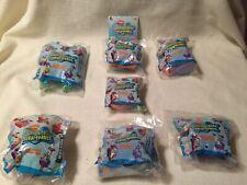 Nip SpongeBob SquarePants Burger King 2001 Nickelodeon Series Complete Set of 7