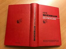 Guide Michelin Deutschland 1975
