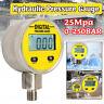 Digital Hydraulic Pressure Gauge 0-250BAR 25Mpa 3600PSI G/NPT1/4'' - Base Entry