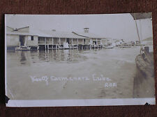 View of Caimanera Cuba/Waterfront Houses on Stilts/Early 1900s Sepia RPPC