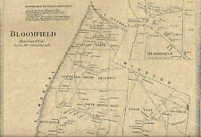 1797 PA MAP Avondale Avonia Baidland Bally Belfast Blawnox Bloomfield SURNAMES