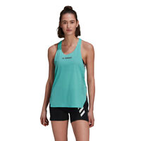 adidas Womens Terrex Parley Agravic Vest Green Sports Running Breathable