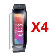 4 Pcs LCD Screen Protector Cover Shield For Samsung Gear Fit (Ultra Clear)