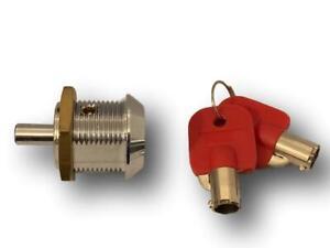 Radial pin 22.5 MM Plunger lock / Push lock (L&F 2610 style) ** Free P&P **