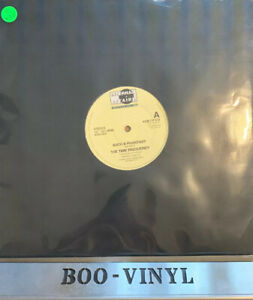 """THE TIME FREQUENCY -SUCH A PHANTASY 12"""" House Techno Vinyl Record Promo Vg+"""