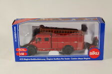 Siku SK4115 Diecast Magirus Auxiliary Fire Tender, 1:50 Scale.