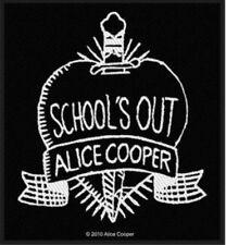 Alice Cooper Woven Patch A007P MC5 Thin Lizzy Judas Priest Black Sabbath