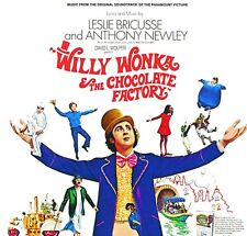 Willy Wonka & The Chocolate Factory ORIGINAL SOUNDTRACK New Colored Vinyl LP