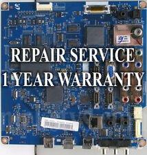 Mail-in Repair Service For Samsung BN94-02620N LN40C650L1 1 YEAR WARRANTY