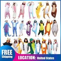 Animal Cosplay Halloween Kigurumi Pajamas Costume Sleepwear Rompers Ones1A