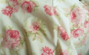 """Rose Floral Country Roses  Dunelm Pair Of Curtains 66""""w x 72"""" d Annabella"""