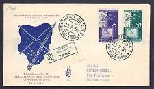 Trieste A 1954 FDC Televisione