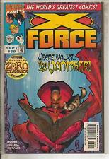 Marvel Comics X-Force #69 September 1997 Operation Zero Tolerance VF
